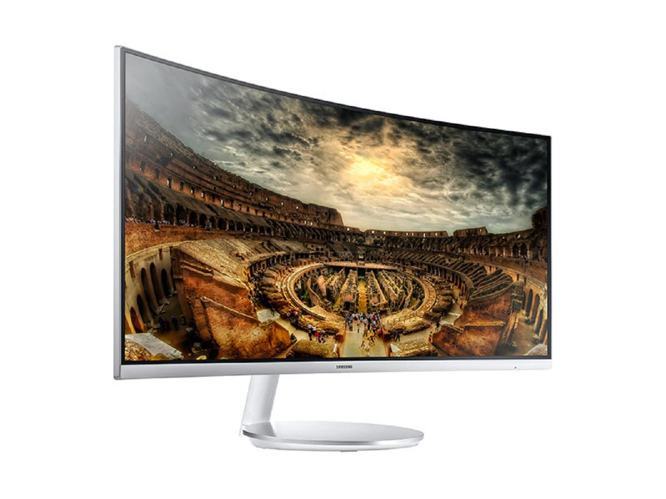 "34"" CF791 Curved Widescreen Monitor by Samsung"