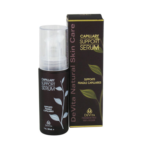 Devita Natural Skin Care Capillary Support Serum 1 Oz, 6 Pack by Devita Natural
