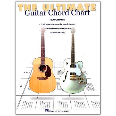 Hal Leonard Ultimate Guitar Chord Chart Book Basic Guitar Chords Chart