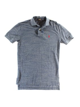 3e9d1583 Product Image Polo Ralph Lauren NEW Blue Men Size Small S Polo Rugby Mesh  Solid Shirt
