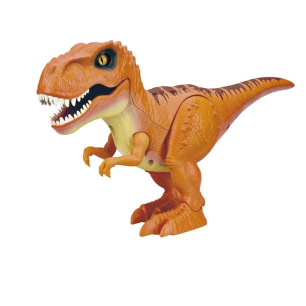 Robo Alive Attacking T Rex Dinosaur Battery Powered Robotic Toy By Zuru Color May Vary Walmart Com Walmart Com