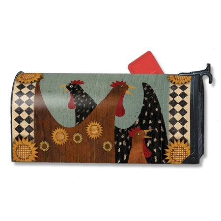 Magnet Works Morning Chatter Magnetic Mailbox Wrap Cover