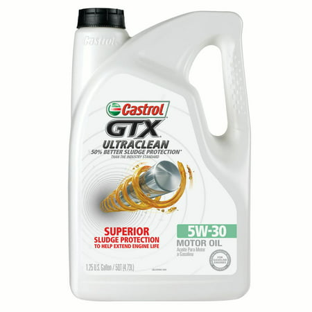 Castrol gtx ultraclean 5w 30 motor oil 5 qt for How to get motor oil out of jeans