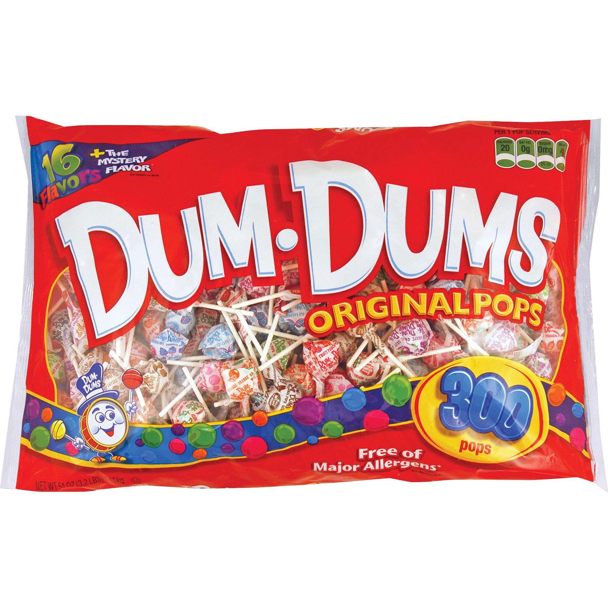 Dum Dum Pops, SPA60, Original Candy, 300 / Bag