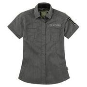 Icon 1000 Virtue Womens Shop Shirt Charcoal/Gray