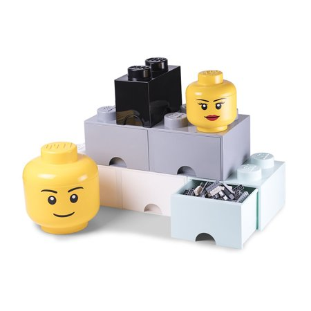 LEGO Construction Blocks Storage Head - - Large (Lego Storage)