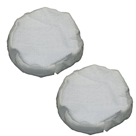 Ryobi 2 Pack of 6 Inch OEM Replacement Cloth Bonnets # 019011001011-2PK