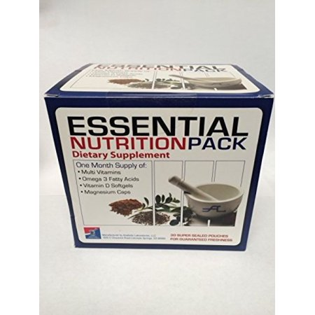 Anabolic Pump - Anabolic Laboratories Essential Nutrition Pack - 30 Multi-packs