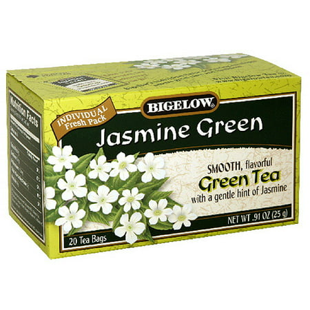 Bigelow Jasmine Green Tea, .91 oz,