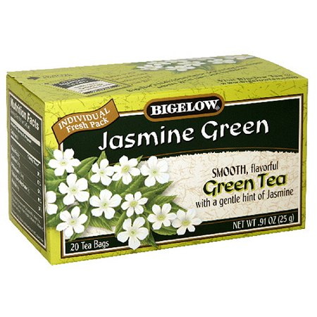 Bigelow Jasmine Green Tea, .91 oz, 20ct (Pack of 6)
