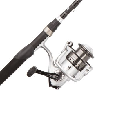 Abu Garcia Silver Max Spinning Reel and Fishing Rod Combo