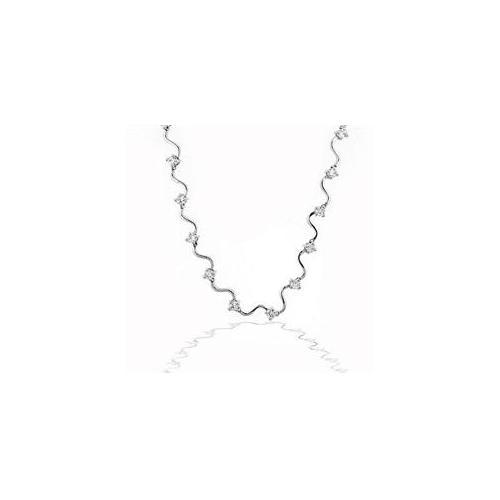 J Goodin N01126R-C01 Elegant Cubic Zirconia Bridal Necklace
