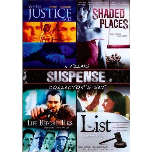 Suspense Collector's Set: The List / When Justice Fails / Shaded Places / Life Before This (Widescreen)