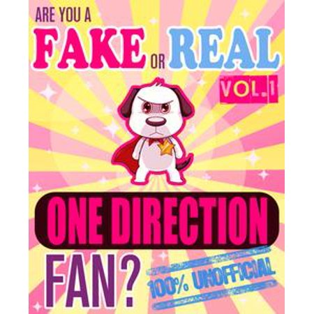 One Direction Vol. 2: Fake Fan or Real Fan? Trivia Set - eBook (Fake Boobs For Halloween)