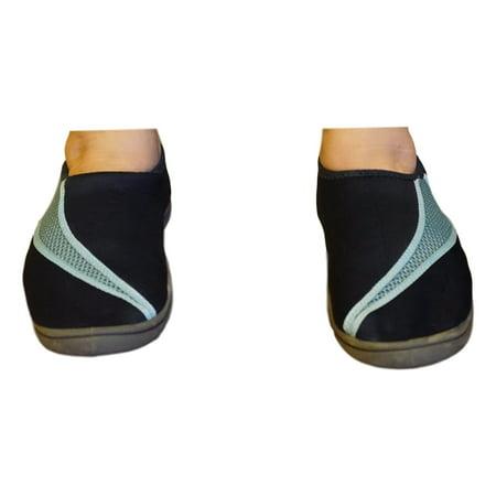 Navy Blue Womens Aqua Shoes, Fast Dry (Womens Size 5-6) - Aqua Blue Jordans