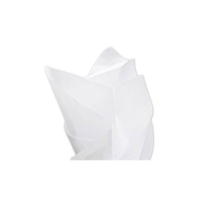 Bags & Bows by Deluxe 11-1520-9M Solid Tissue Paper White - Case of 960 - image 1 of 1