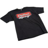 Edelbrock 2313 Edelbrock Racing Logo Tee XL Black