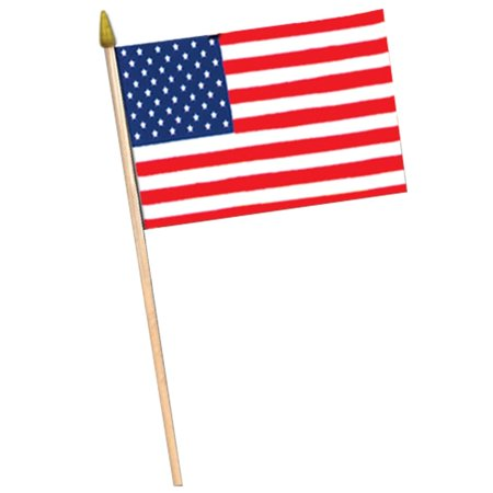 Club Pack of 12 Patriotic Themed Red, White and Blue American Flag Party Decorations 30