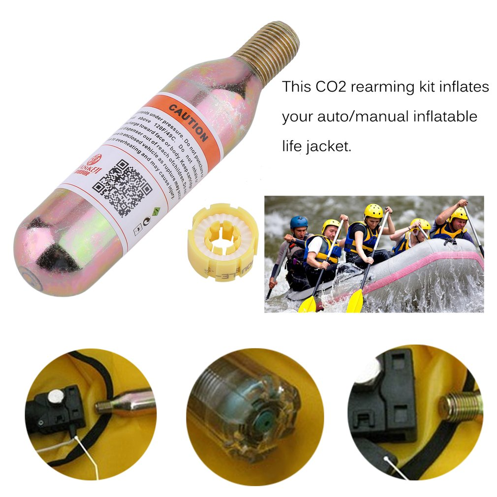 24 Gram CO2 ReArming Kit K320 For A/M-24 Inflatable Life Jackets Vest