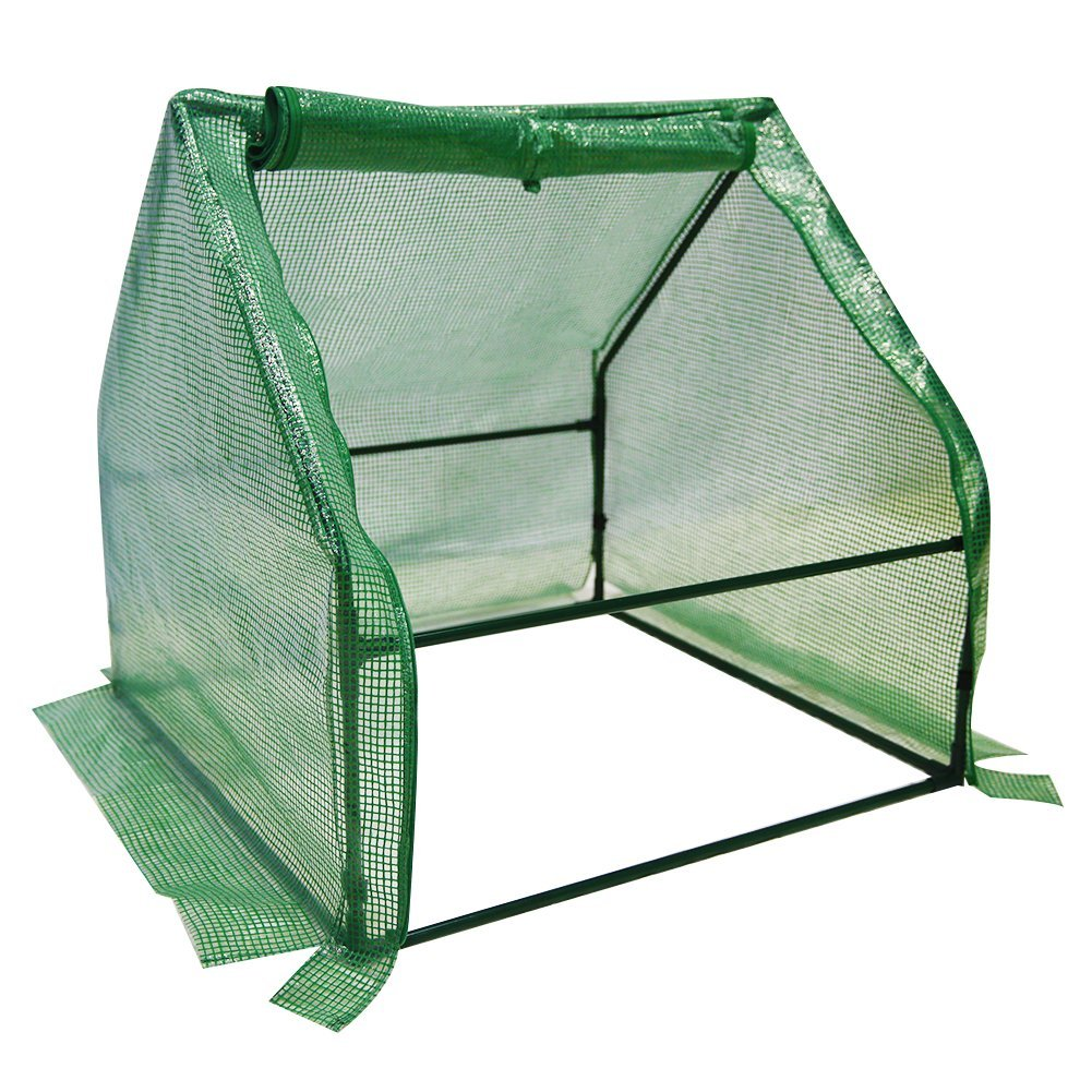 Abba Patio Mini Walk-In Greenhouse Fully Enclosed Portable Greenhouse, 3'W x 3'D x 3'H by Abba Patio