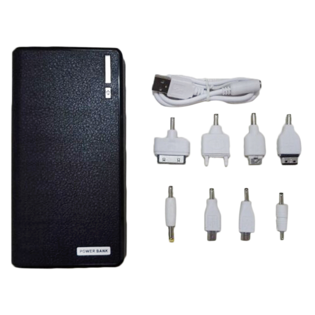 50000mAh External Power Bank Backup LED Dual USB Battery Charger for Cellphone