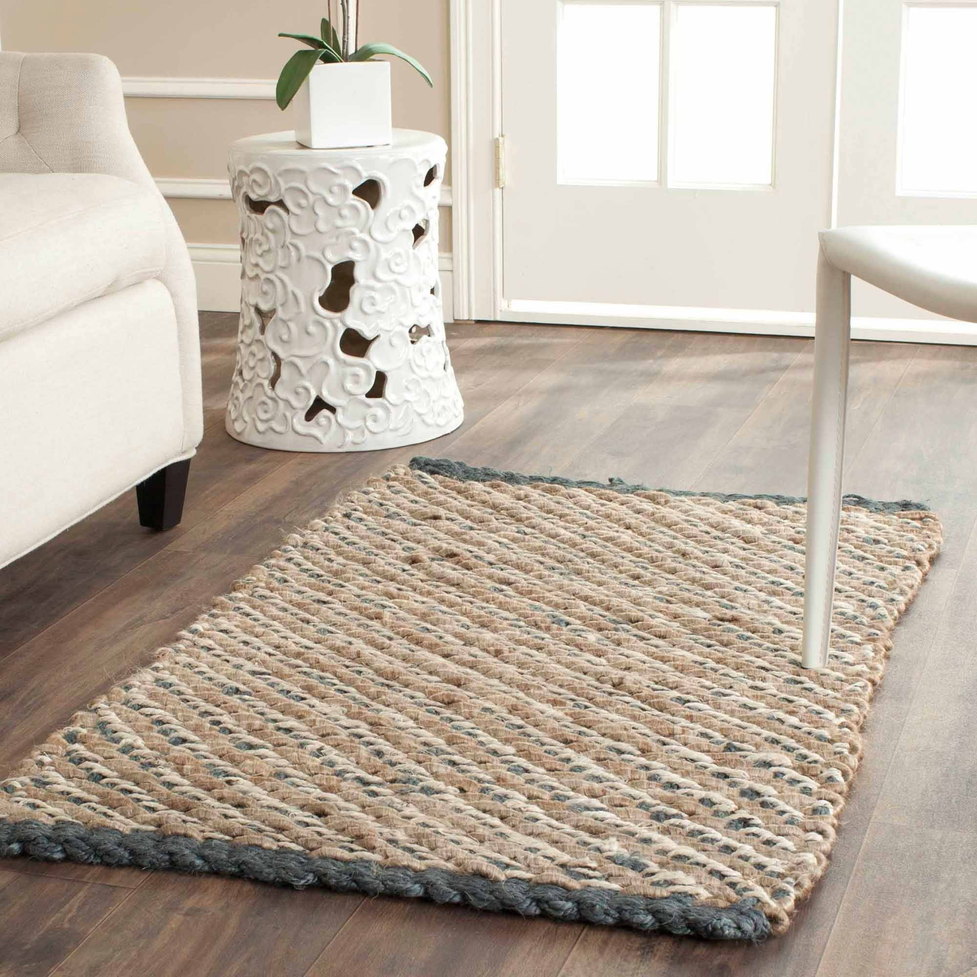 Safavieh Johanna Natural Fiber Area Rug, Blue/Natural
