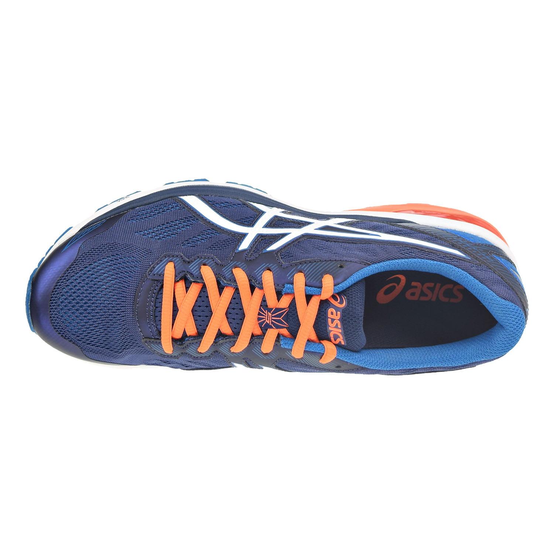 Asics GT-1000 5 Men's Shoes Indigo Blue/Snow/Hot Orange t6a3n-4900