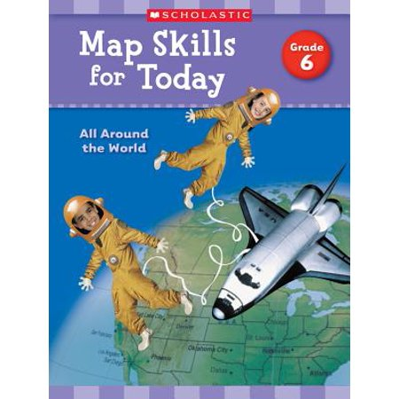 Map Skills for Today: Grade 6 : All Around the World](Halloween Map Skills Worksheets)