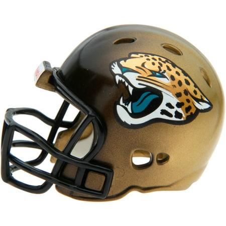 Football Helmet Cart - Riddell Jacksonville Jaguars Pocket Pro Micro Football Helmet - Black - No Size