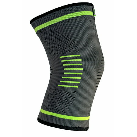 NatraCure Compression Knee Sleeve, Single Wrap - (Choose Size: S, M, L, XL) - Braces and Supports Knee for Pain Relief, Meniscus Tear, Arthritis, Injury, Running, and Joint Pain - Best Knee (Best Treatment For Arthritis Knee Pain)