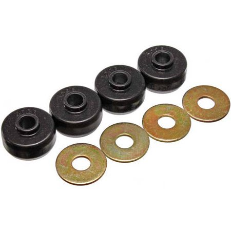 Energy Suspension 84-96 Chevy Corvette Black Spring Cushions for Rear Leaf Spring Bushing Set