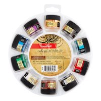 Speedball Pigmented Acrylic Ink Palette Set, 10-Color Set