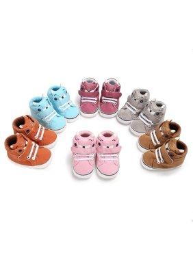 0-18M Baby Girl Boy Soft Sole Sneaker Shoes Prewalker