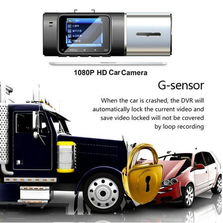 "1.5"" IPS Screen Touch Screen 1080p Car Recorder Camera , G-Sensor Dashboard Camera, Parking Monitor, HDR Night Vision, Motion Detection, Loop Recording - image 3 of 11"