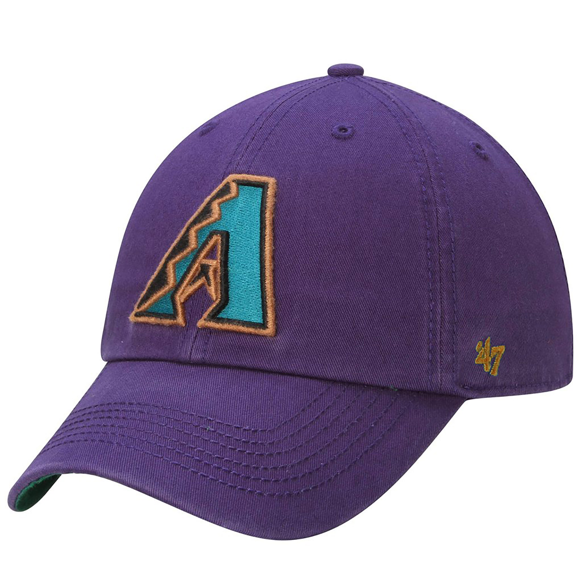 Arizona Diamondbacks '47 Brand Cooperstown Collection Franchise Fitted Hat - Purple