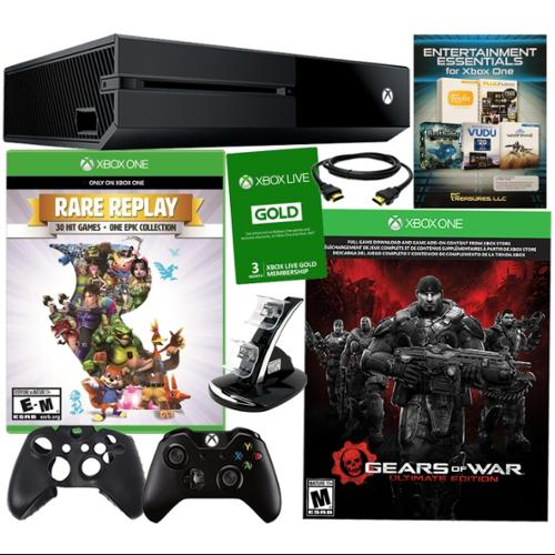 Xbox One 500GB Gears of War Ultimate Edition Bundle with Rare Replay & more