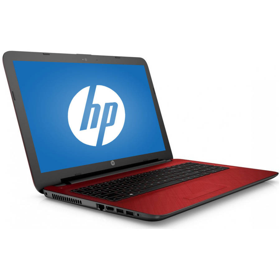 "Recertified HP Flyer Red 15.6"" 15-Ac129Ds Laptop PC with Intel Pentium N3700 Processor, 4GB Memory, 1TB Hard Drive and Windows 10 Home"
