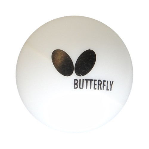 Butterfly Easy Ball 40+ Ping Pong Balls, Pack of 6 by Butterfly