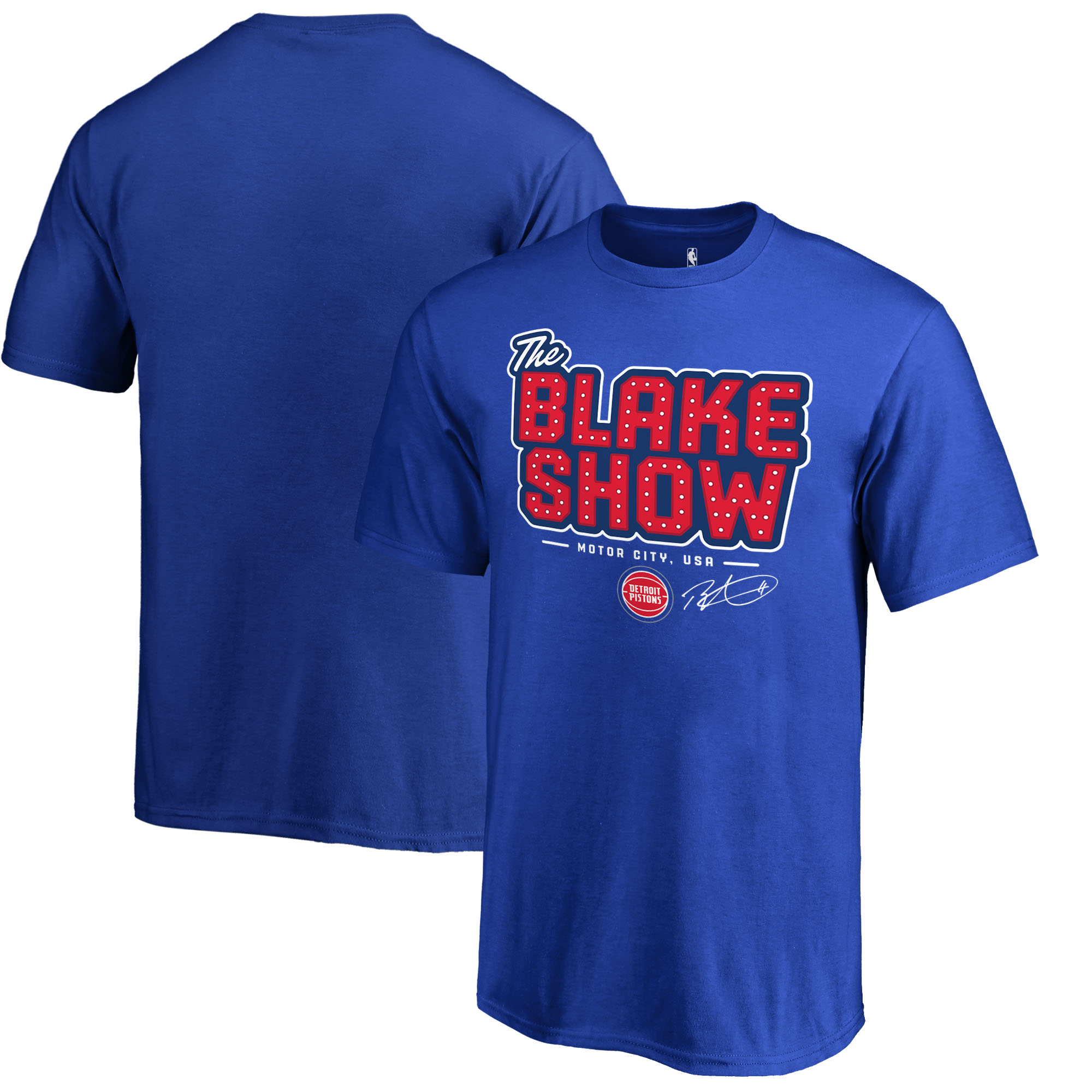 Blake Griffin Detroit Pistons Fanatics Branded Youth Hometown Collection The Blake Show T-Shirt - Royal