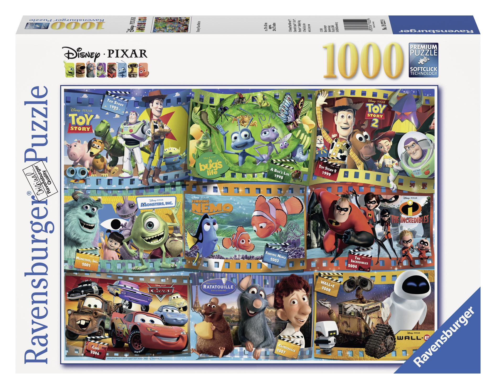 Puzzle-Disney Pixar Movies (Other) by Ravensburger