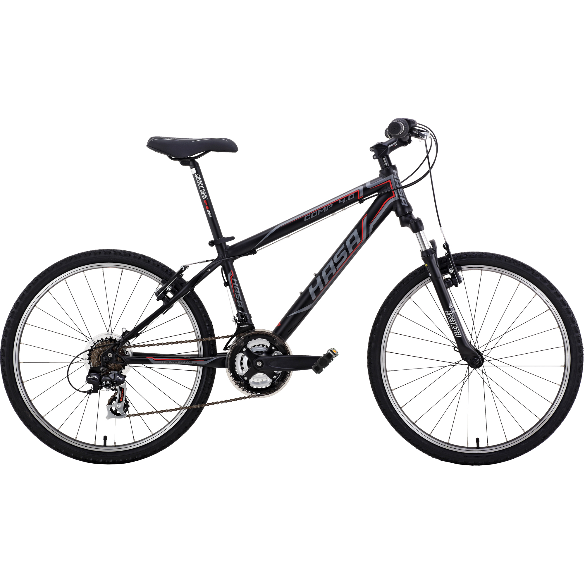HASA Kids Mountain Bike Shimano 21 Speed 24 inch Alloy