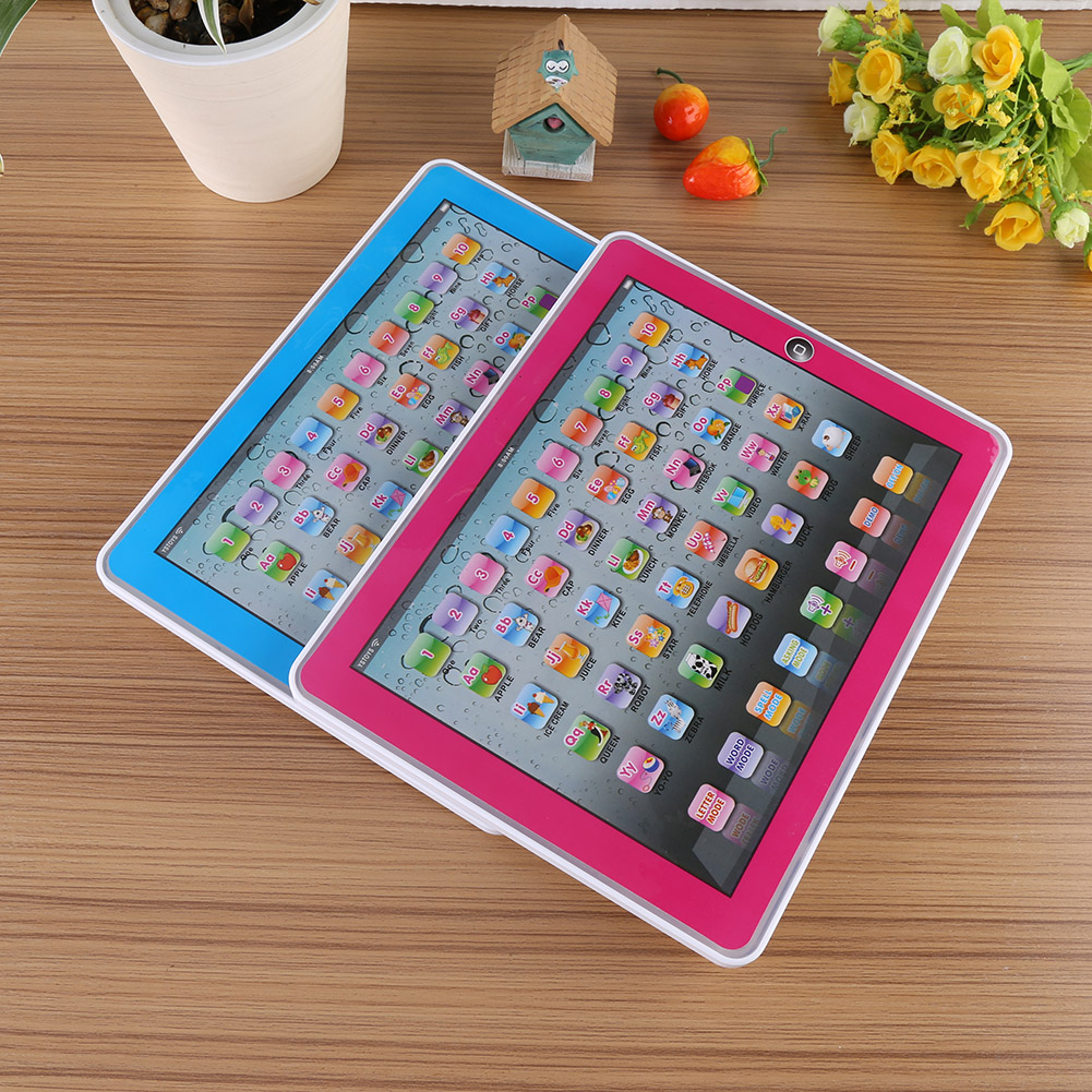 Yosoo Baby Kids Toddler Learning English Machine Tablet Early Educational Study Toy, Baby English Learning Toy, Baby Learning Machine