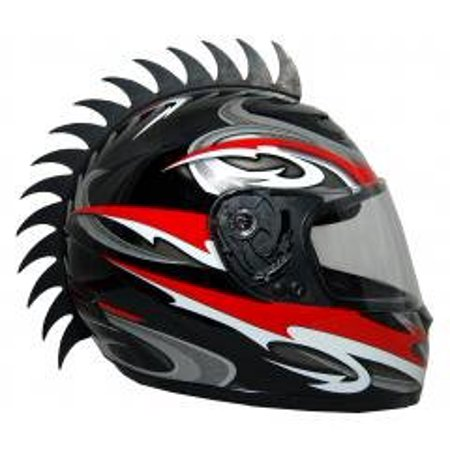 Motorcycle Dirtbike Snowmobile Atv Saw Blade Helmet Warhawk Helmets Mohawk Helmet Not (Snowmobile Helmet)