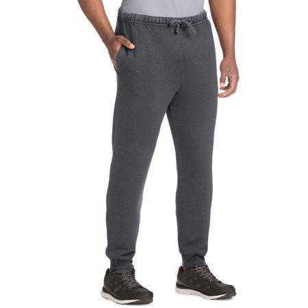 754737002 Hanes - Hanes Men s 1901 Heritage Fleece Jogger Sweatpants - Walmart.com