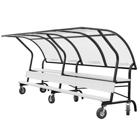 Portable Soccer Bench Shelters By Kwik Goal 15 39