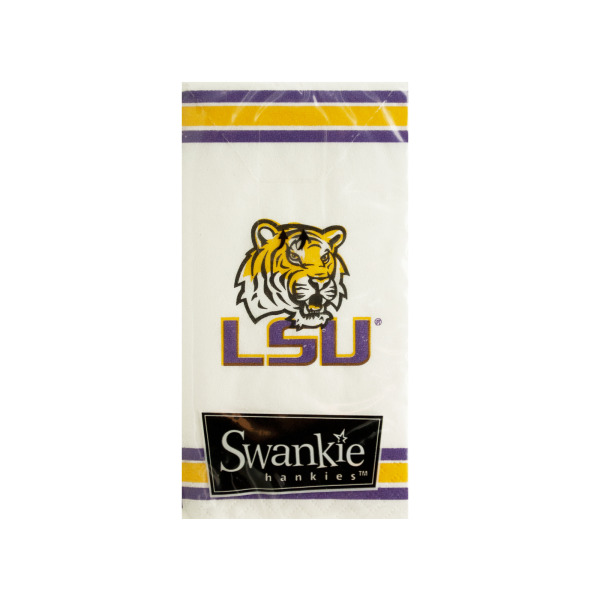 Louisiana State Tigers Pocket Tissues (Pack Of 24)