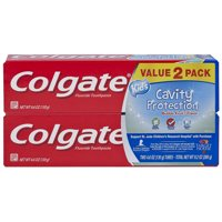Colgate Kids Toothpaste Cavity Protection, Bubble Fruit, 4.6 ounces (2 Pack)