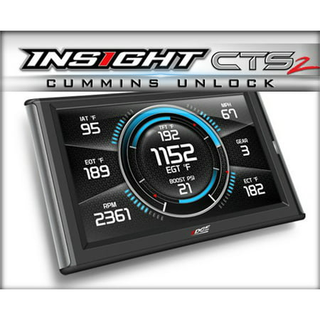 Edge Products 84131 Insight CTS2 Monitor; For Vehicles Equipped w/OBD II Diagnostic Port; Incl. Mystyle Software; (Diagnostic Software)
