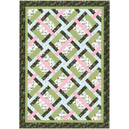 Pick Up Sticks Quilt Pattern by Tamarinis