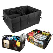 Xotic Tech 1x Car Trunk SUV Cargo Organizer Foldable Collapsible Multipurpose Storage Container Bag Tool Case Box